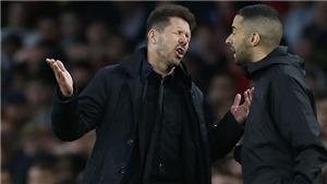 Atletico 1-0 Arsenal: Simeone và câu chuyện về cá tính 'tàn bạo' của một nhà cầm quân
