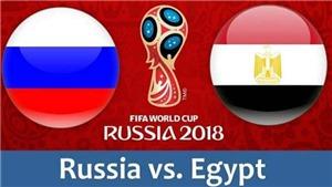 Link xem trực tiếp Nga vs Ai Cập (1h00, 20/6)