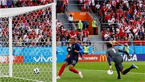 Pháp 1-0 Peru: Mbappe lập công đưa Pháp đi tiếp ở World Cup