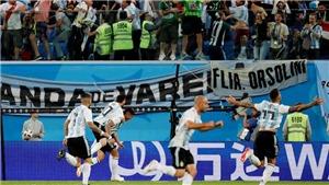 Messi và Rojo ghi bàn đưa Argentina thoát hiểm kịch tính, gặp Pháp ở vòng 1/8