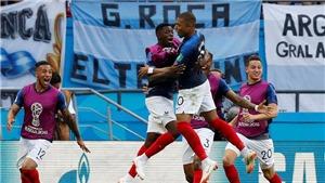 Mbappe ghi bàn sau pha phản công kinh điển của Pháp, Argentina không chạm nổi bóng