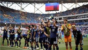 Nhật Bản là đội đầu tiên trong lịch sử World Cup đi tiếp nhờ điểm fair-play