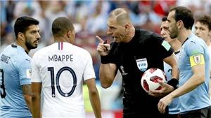 Fan Pháp lo lắng vì trọng tài bắt chính chung kết World Cup 2018 là người Argentina