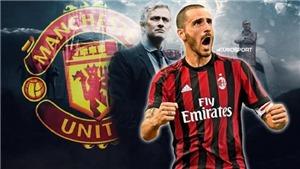 CHUYỂN NHƯỢNG 15/7: M.U chính thức hỏi mua Bonucci, Chelsea liên hệ với Higuain