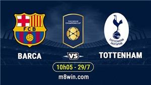 Video clip highlights bàn thắng Barcelona 2-2 Tottenham (luân lưu 5-3): Tiếc cho Spurs