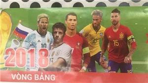 Tờ lịch 'tiên tri' vẫn gây sốt: Sau Brazil của Neymar, đến lượt Nga cũng bị loại