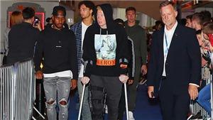 Kevin De Bruyne chấn thương nặng, phải chống nạng, có thể ngồi ngoài 3 tháng