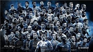 Gareth Bale, Oezil, Lloris vắng mặt trong đội hình tiêu biểu 2018 của FIFA