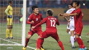 VIDEO: Quang Hải và Hồng Duy phối hợp như Messi và Alba khi ghi bàn vào lưới Campuchia