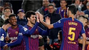 VIDEO Barca 2-0 Villarreal: Messi kiến tạo, Barca đòi lại ngôi đầu bảng