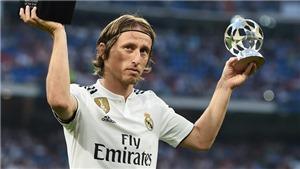 Modric đoạt giải 'Cầu thủ hay nhất thế giới' của IFFHS, bước đệm quan trọng cho Quả bóng Vàng 2018