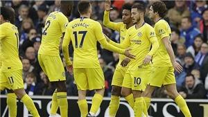 Video clip bàn thắng Brighton 1-2 Chelsea: Hazard tỏa sáng
