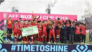 KHÓ QUÊN: Khoảnh khắc Việt Nam nâng cao cúp vô địch AFF Cup 2018