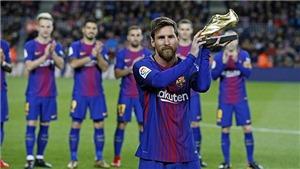 Messi đang có hiệu suất ghi bàn và kiến tạo tốt nhất ở tuổi 31