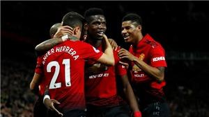 M.U 4-1 Bournemouth: Pogba cú đúp, Bailly thẻ đỏ, 'Quỷ đỏ' thắng 3 trận liên tiếp dưới thời Solskjaer