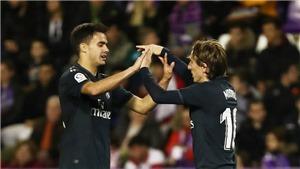 VIDEO Real Valladolid 1-4 Real Madrid: Ngược dòng thành công, Real tìm lại niềm vui