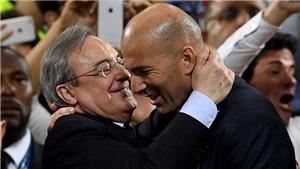 Zidane: 'Real cần thay đổi'. Chủ tịch Perez: 'Tôi sẽ mua cả Neymar và Mbappe'