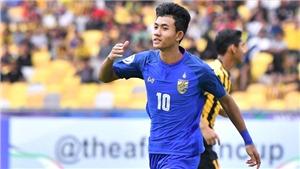 'Thần đồng' Thái Lan là nhân tố bất ngờ ở vòng loại U23 châu Á 2020?