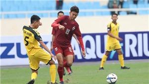 U23 Thái Lan 8-0 U23 Brunei (KT): Supachai lập hat-trick, Thái Lan 'hủy diệt' Brunei