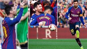 Báo thân Real tước bàn thắng kiểu panenka của Messi trong trận đấu với Espanyol