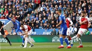 Leicester 3-0 Arsenal (KT): Thi đấu thiếu người, 'Pháo thủ' trắng tay rời King Power