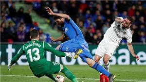 Getafe 0-0 Real Madrid: Benzema tịt ngòi, Real ngậm ngùi chia điểm với đội top 4