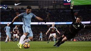 Xem trực tiếp bóng đá Burnley vs Man City (20h05, 28/4) ở đâu?