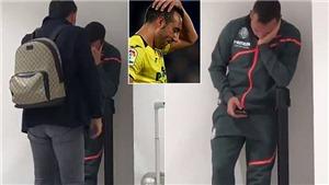 Cazorla bật khóc khi sút trượt penalty khiến Villarreal rơi xuống nhóm 'cầm đèn đỏ' ở Liga