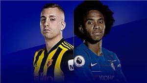 Xem trực tiếp bóng đá Chelsea vs Watford (20h00, 5/5) ở đâu?
