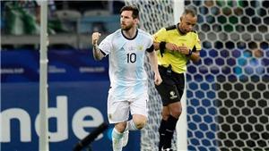 Venezuela 0-2 Argentina: Martinez và Lo Celso ghi bàn, Argentina vào Bán kết gặp Brazil