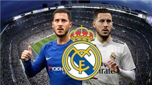 Real CHÍNH THỨC xác nhận chiêu mộ thành công Hazard từ Chelsea. Hazard gửi tâm thư