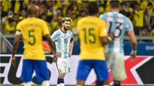 Trực tiếp bóng đá Brazil vs Argentina (7h30, 3/7): 'Siêu kinh điển' Nam Mỹ