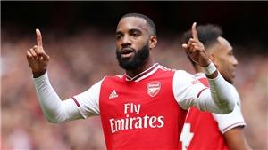 Arsenal 2-1 Burnley: Lacazette và Aubameyang lập công giúp 'Pháo thủ' có trận thắng thứ hai
