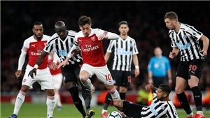 Newcastle 0-1 Arsenal (KT): Aubameyang tỏa sáng giúp 'Pháo thủ' thắng tối thiểu 'Chích chòe'