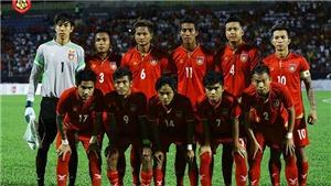 Trực tiếp bóng đá: U18 Lào vs U18 Myanmar, U18 Đông Nam Á 2019 (16h00 hôm nay)