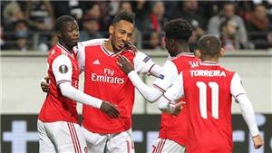 Frankfurt 0-3 Arsenal: 'Pháo thủ' mở tiệc bàn thắng trên sân khách