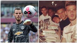 MU: Ngồi dự bị trước Rochdale, De Gea khao to đồng đội, Pogba vắng mặt