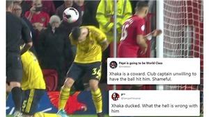 MU 1-1 Arsenal: CĐV Arsenal chỉ trích đội trưởng Xhaka thậm tệ vì né cú sút thành bàn của McTominay