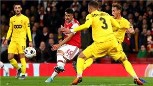 Arsenal 4-0 Standard Liege: Sao trẻ lập công, 'Pháo thủ' hủy diệt đối thủ trên sân nhà