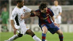 Patrice Evra bị chê 'chém gió' khi nói có thể đối phó với Messi