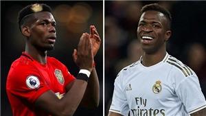 CHUYỂN NHƯỢNG 28/12: MU yêu cầu đổi Pogba lấy Vinicius. Ibra chính thức trở về Milan