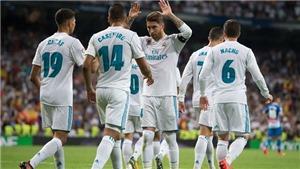 Kết quả bóng đá Getafe 0-3 Real Madrid: Varane lập cú đúp giúp 'Kền kền trắng' giành trọn 3 điểm