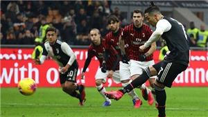 AC Milan 1-1 Juventus: Ronaldo lập công, Juve thoát thua trong gang tấc