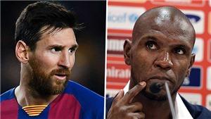 Dám 'bật' Messi, Eric Abidal vẫn được ở lại Barca