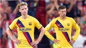 Bilbao 1-0 Barcelona: Messi bất lực, Busquets phản lưới phút chót, Barca bị loại sốc