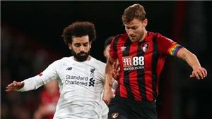 Xem trực tiếp bóng đá Liverpool vs Bournemouth. K+, K+PM trực tiếp Ngoại hạng Anh