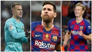 Barca: Chỉ 3 ngôi sao này trong diện an toàn ở kỳ chuyển nhượng tới