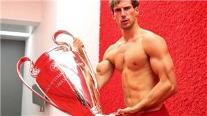 Thể hình của sao Bayern Munich thay đổi khó tin trong một thời gian ngắn