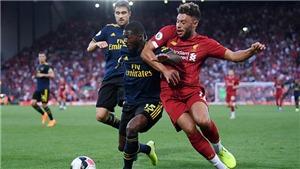 Trực tiếp bóng đá siêu cúp Anh: Arsenal đấu với Liverpool