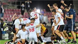 Bóng đá hôm nay 22/8: Sevilla vô địch Europa League lần thứ 6. Lukaku từ chối nhận huy chương